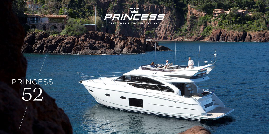 Яхта Princess 52 FLYBRIDGE