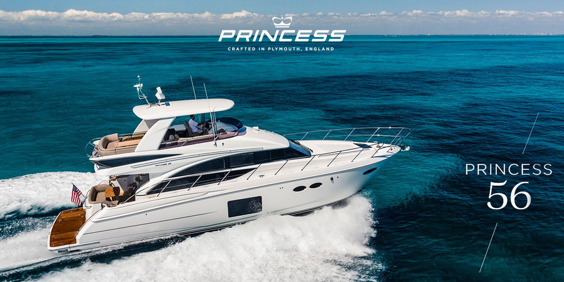 Яхта Princess 56 FLYBRIDGE