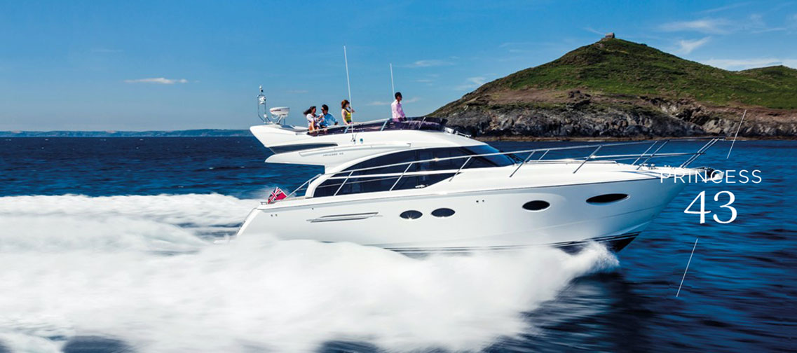 Яхта Princess 43 FLYBRIDGE